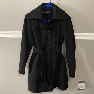 Anne Klein Belted Wool Coat